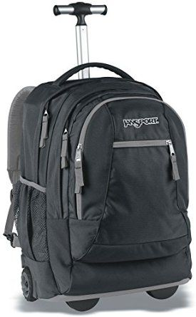JanSport Driver 8 Core Series Wheeled Backpack http://amzn.to/1DApLvH