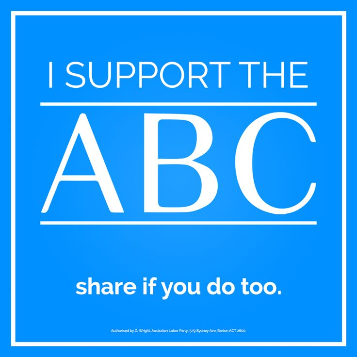 Tanya Plibersek  I support the ‪#‎ABC‬. SHARE if you do too and SIGN the petition: www.alp.org.au/i_support_our_abc