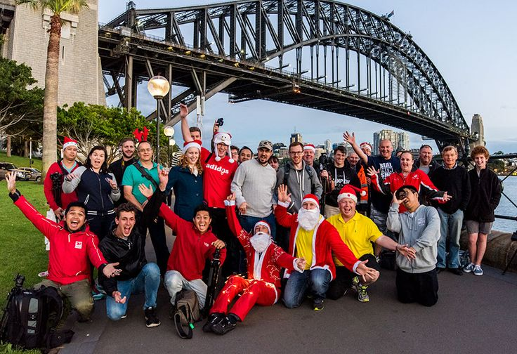 Our last photowalk for 2014 was help at Dawes Point and say a couple of dubious looking Santa's join us for the event. #Photowalk #Photography #ThePhotowalkGuys #Sydney