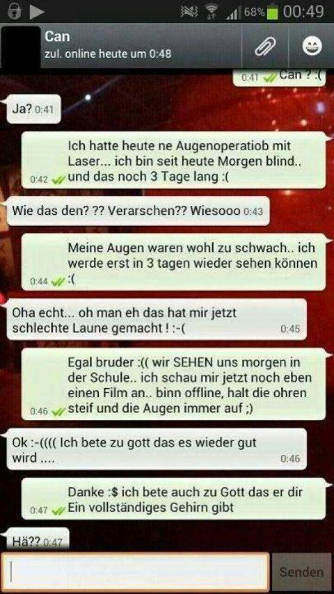 lustige WhatsApp Chats jetzt neu! ->. . . . . der Blog für den Gentleman.viele interessante Beiträge  - www.thegentlemanclub.de/blog