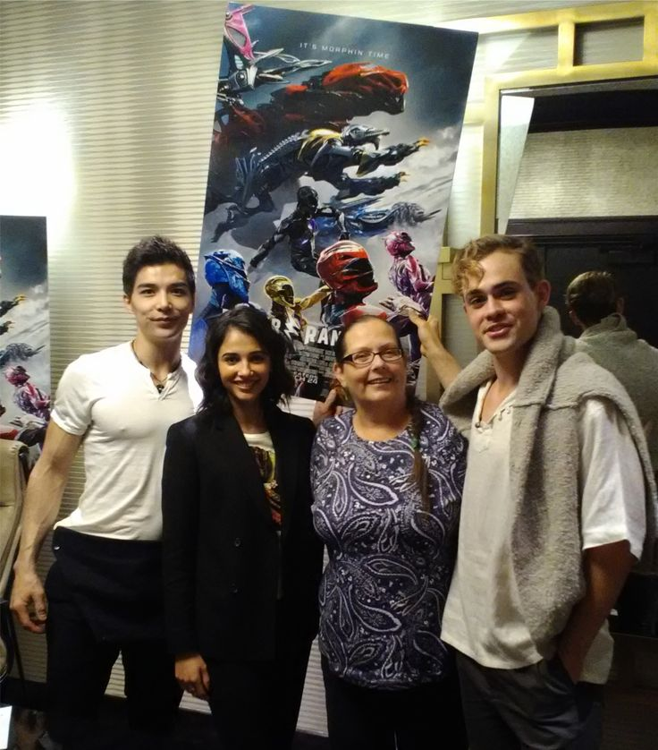 I had the opportunity to speak with the Red Ranger Jason Scott played by Dacre Montgomery, the Black Ranger Zack Taylor played by Ludi Lin and the Pink Ranger Kimberly Scott played by Naomi Scott. http://moviemaven.homestead.com/index.html