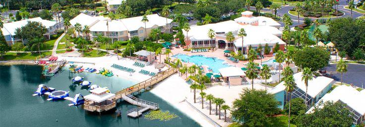 Aerial of Summer Bay Resort