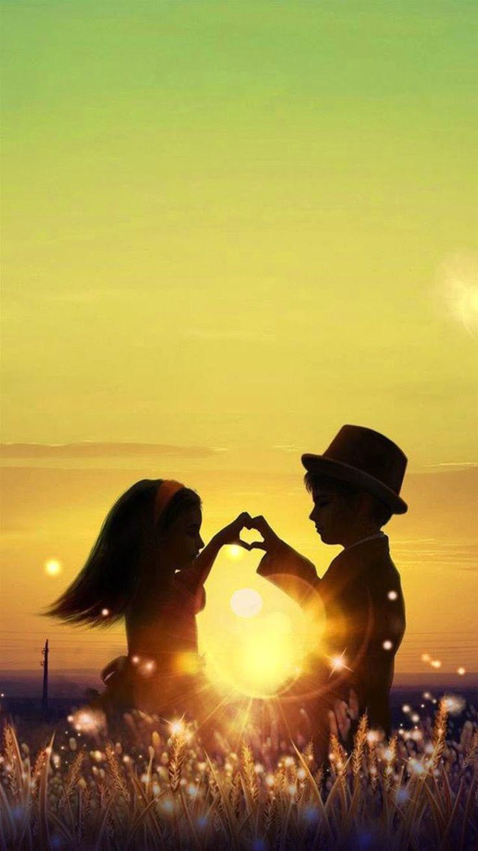 In summer hd wallpaper download cartoon wallpaper html code - Young Couple At Sunset Iphone Hd Wallpaper