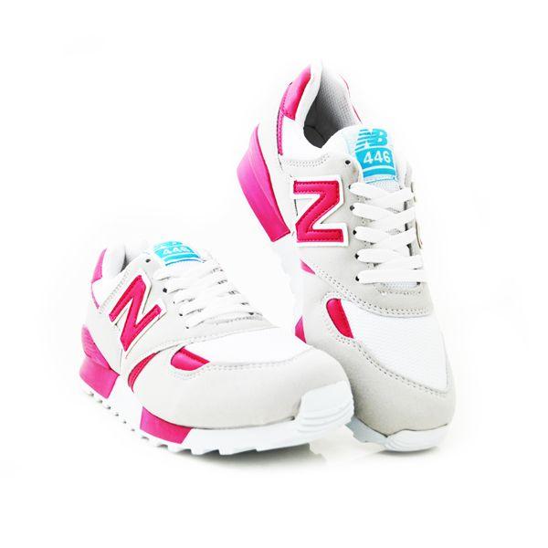 New Balance 446 Beyaz Fuşya | BAYAN AYAKKABI | Spor | New balance kadın ayakkabıları - En uygun fiyata | Nelazimsa.net