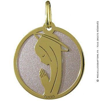 Fabulous Plus de 25 idées uniques dans la catégorie Medaille bapteme fille  PU49