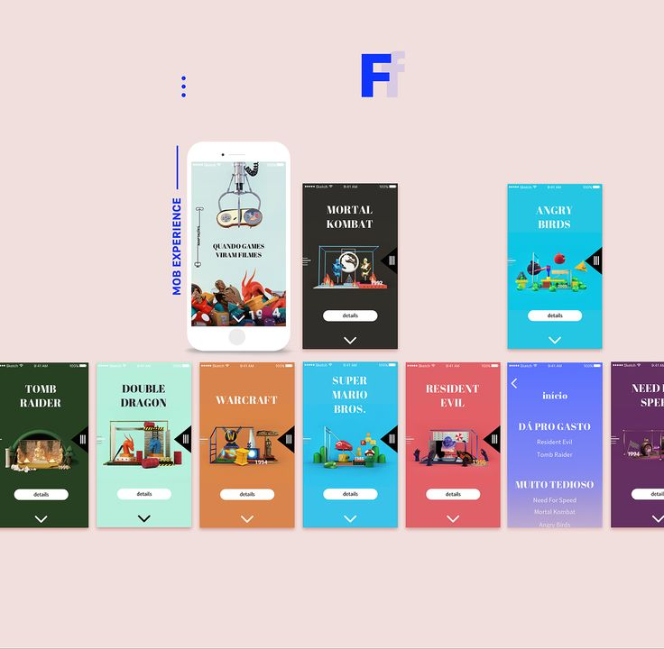 ZH | Games that turned movies on Behance