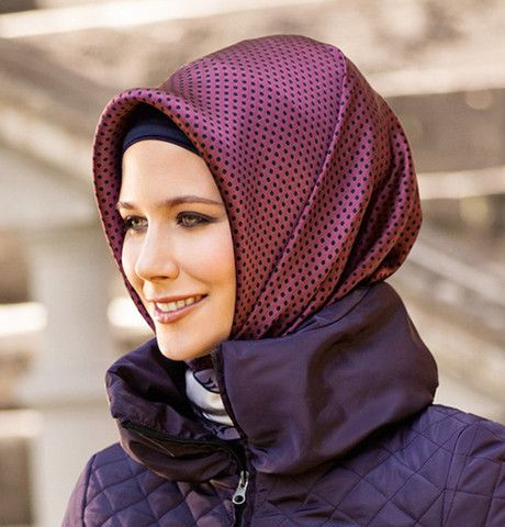 Armine Silk Hijab 2607 - Fall 2013 Winter 2014 - Ships from USA | Modefa USA