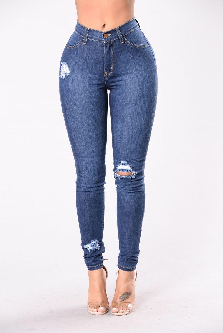 Lookin' Good Jeans - Dark Wash