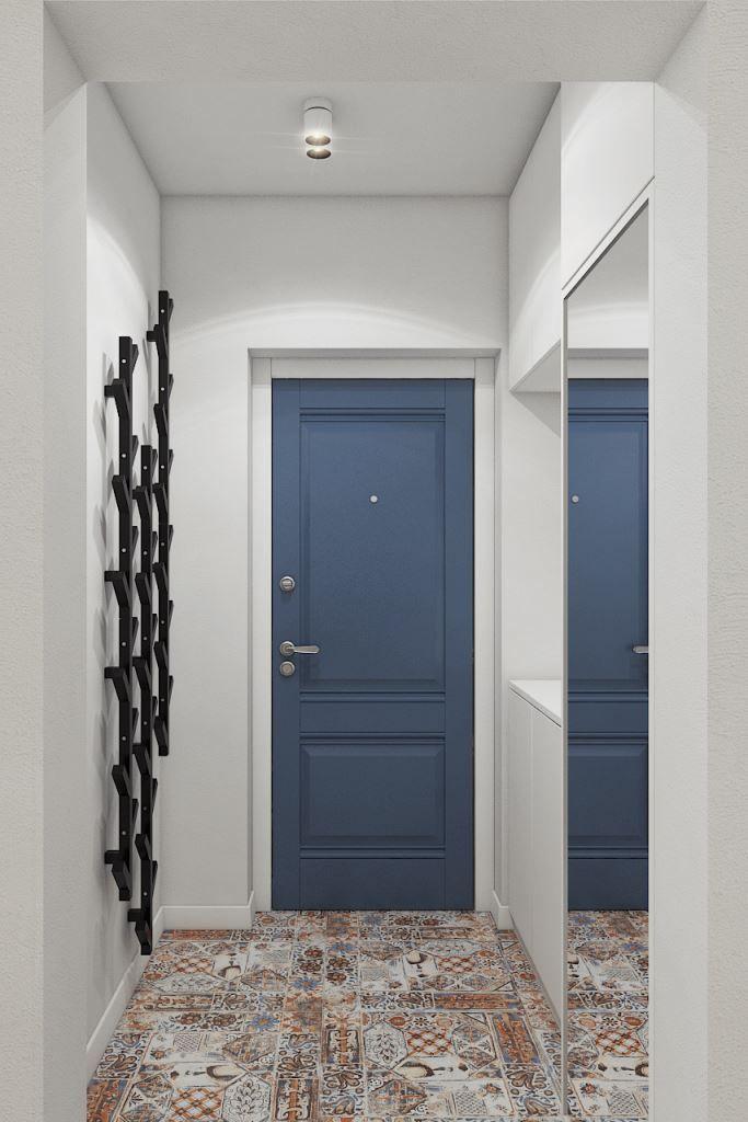 Скандинавские акценты в интерьере трехкомнатной квартиры