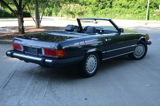 1988 Mercedes 560SL...still simple and elegant almost three decades later.