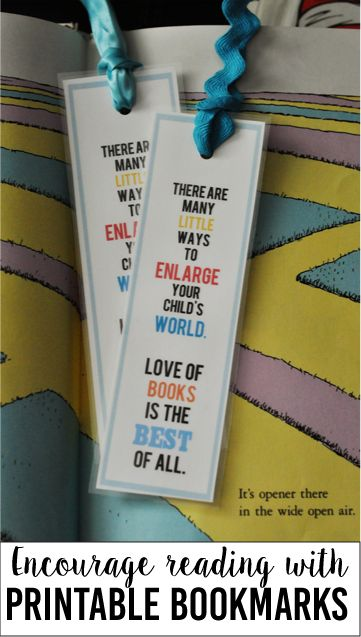 March 2 is Dr. Seuss Day: Encourage Reading with these Printable Bookmarks!