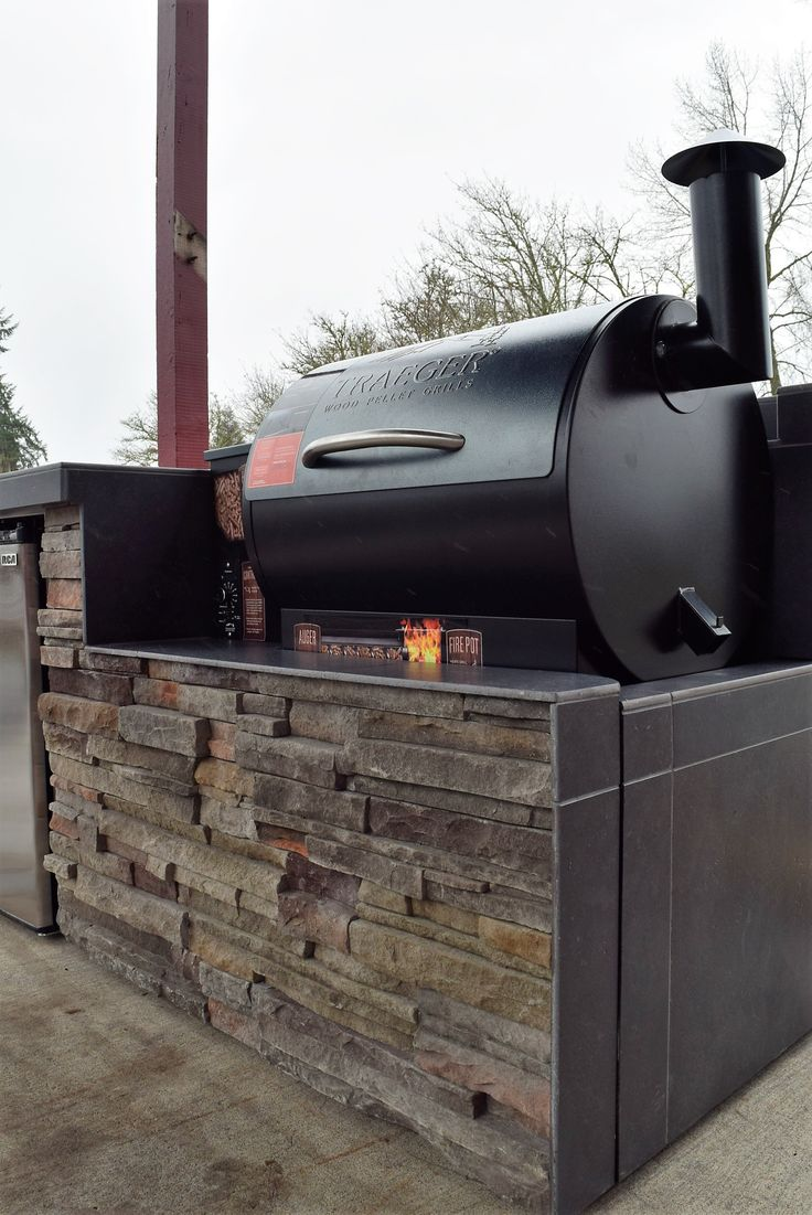 66 Best Images About Outdoor BBQ Kitchen On Pinterest