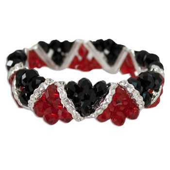 Gamecocks Stretch Bracelet: Gamecock Jewelry, Gamecocks Stretch, Carolina Gamecock, Stretch Bracelets, Gamecock Double, Gamecock Stuff, Double Strand, Bracelet Gamecocks