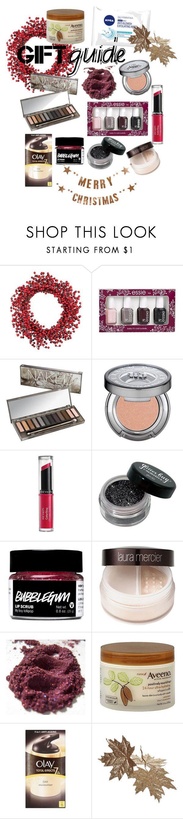 """Beauty"" by jessicamlrw ❤ liked on Polyvore featuring beauty, Improvements, Essie, Urban Decay, Revlon, Nivea, Laura Mercier, Aveeno, Olay and Bloomingville"