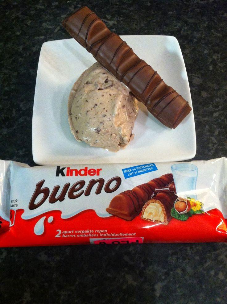 Cintjescookery: Kinder Bueno ijs