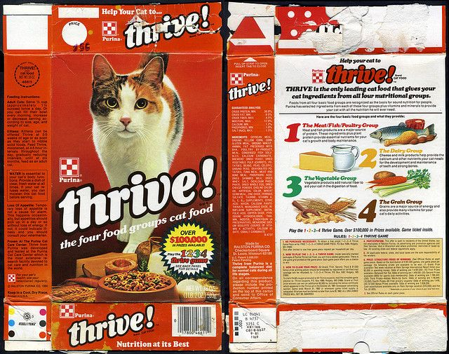 ralston purina - thrive - play the 1234 thrive game