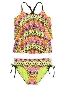 Aztec Tankini Swimsuit