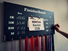 FinisherBoard - Dein Medaillenhalter - enduu® - So geht fit!
