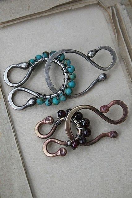 jewelry clasp  ~ I like this idea    Link is dead' no tutorial rather just an idea to remember