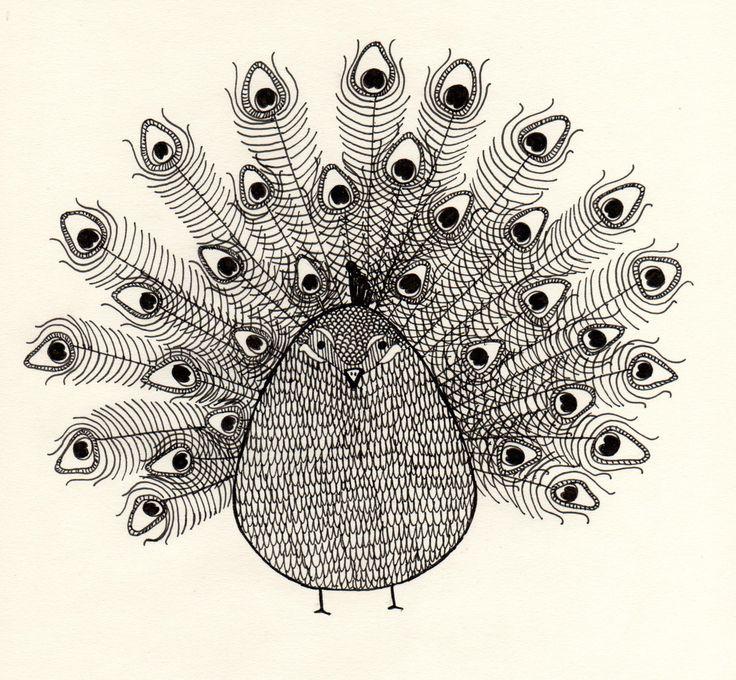fat peacock