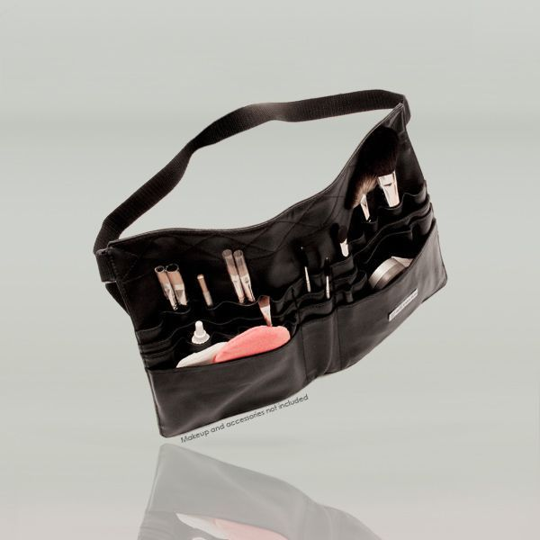 Kryolan makeup artist leather tool belt brush holder makeup case bag 7830. May I can make my own version for less than $30.95?