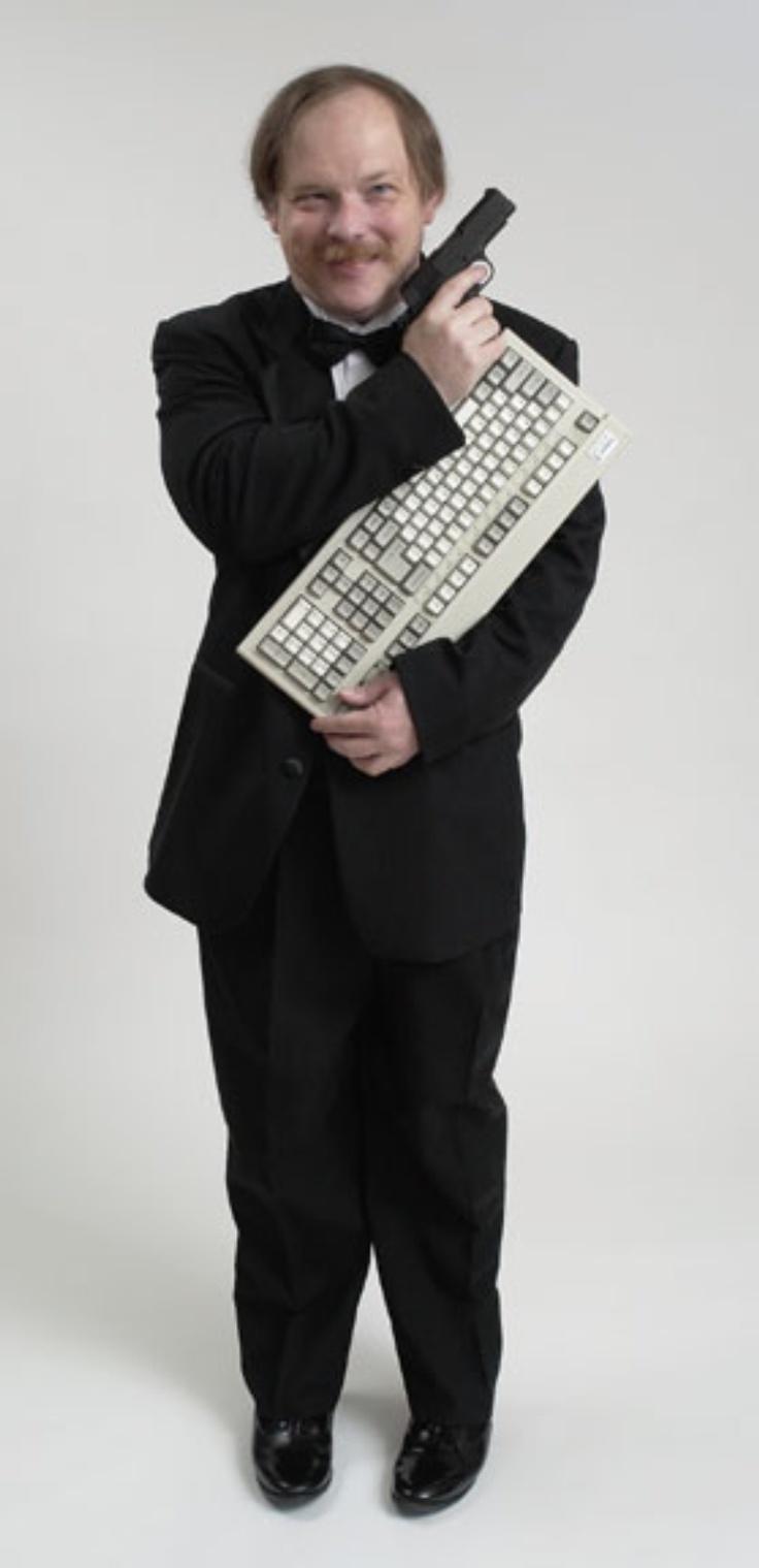 Eric S. Raymond. Superhacker, escriptor inspirador i pioner del Programari Lliure