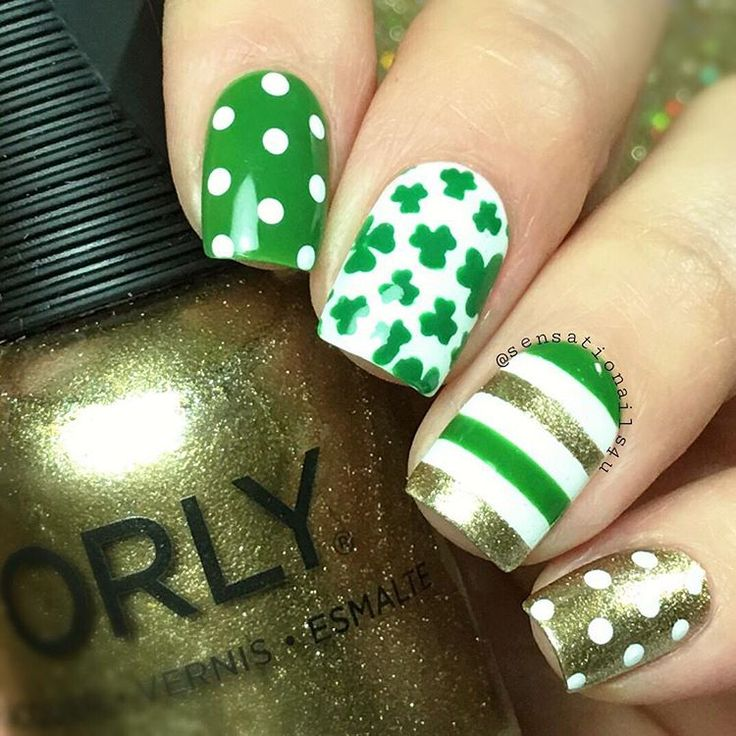 93 best Luck of the Irish images on Pinterest | Holiday nails, Cute ...