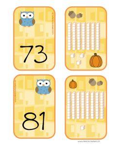 jeu maths dizaines unités | Les cliparts viennent de http://www.mycutegraphics.com/