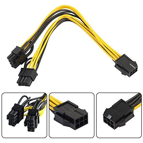 [10Pcs]6-pinFemaletoDual8-pinMalesPCI-EPowerCordCPUGraphicsCardPCI-EExpressVGASplitterHubPowerCable6PtoVideoCardDual6+2PinPowerCableinApprox.20cm/7.87in #[Pcs] #pinFemaletoDual #pinMalesPCI #EPowerCordCPUGraphicsCardPCI #EExpressVGASplitterHubPowerCablePtoVideoCardDual+PinPowerCableinApprox.cm/.in