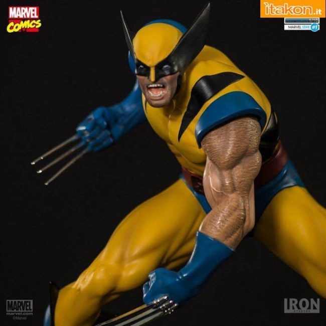 Nuova statica di Wolverine prodotta da Iron Studios