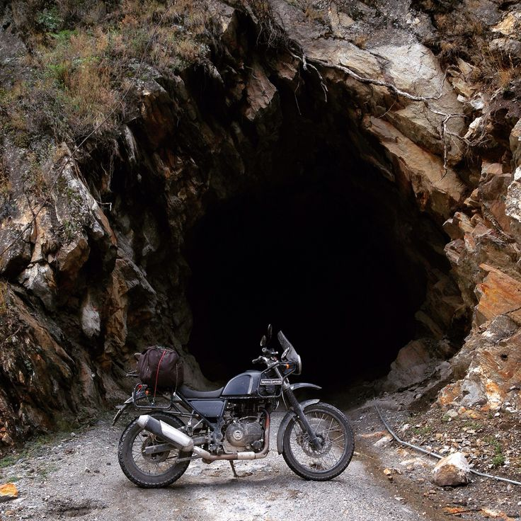 The first person to ride the Royal Enfield Himalayan solo to India's last frontier village of Chutkul in Himachal Pradesh .. As the curtains lifted, one person was at 12000ft basking in joys of freedom with it... #RoyalEnfield #Himalayan