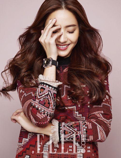 Han Chae-young // Elle Korea