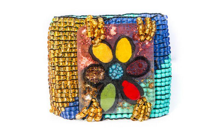 Jewelry with chaquira - Laaproo