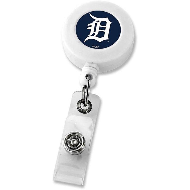 Aminco MLB Detroit Tigers Retractable Reel I.D. Holder