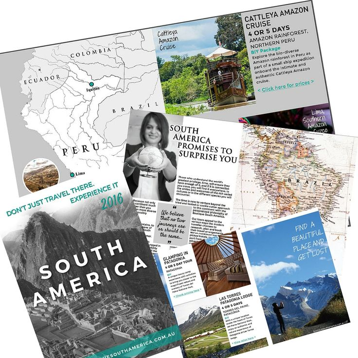 Because you deserve the best possible travel experience of South America. Peruse our new brochure for great travel and tour ideas. Download it here.