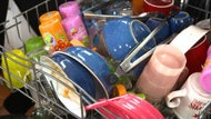 Handwashing the Dishes vs Dishwasher    How to load the dishwasher and what to put in.