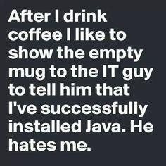 Coffee Humor Maybe something for https://Addgeeks.com ?