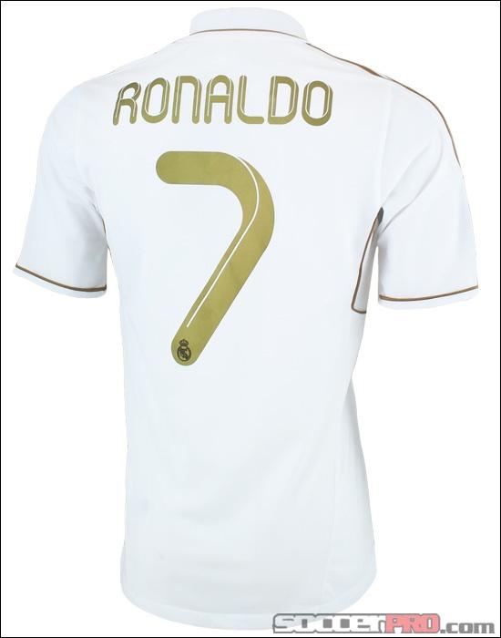 The adidas Real Madrid Cristiano Ronaldo Home Jersey - 2011-2012...$84.99