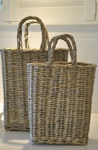 French bread baskets...love these for the kitchen of my dreams :)
