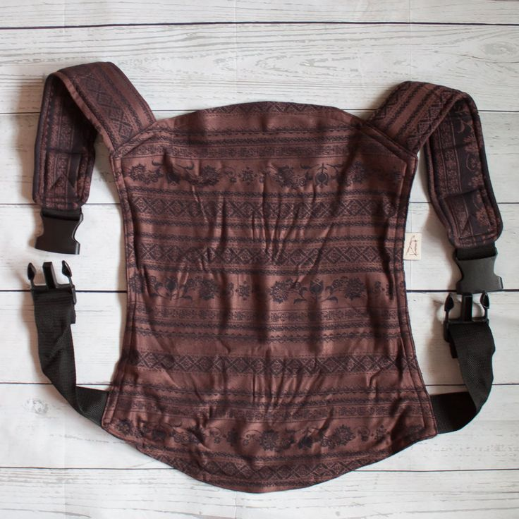 Onbu, onbuhimo, buckle carrier with bamboo for babywearing. 2 months-3 years.