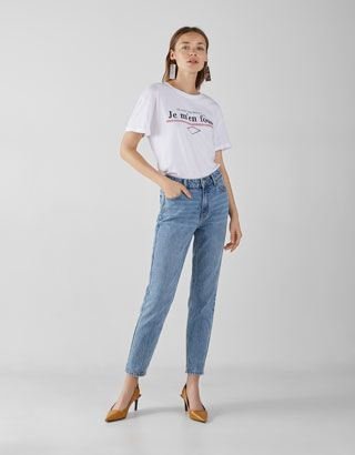 cd2ab2bb75 High Rise Mom Jeans in 2019 | wants | High rise mom jeans, Mom jeans ...