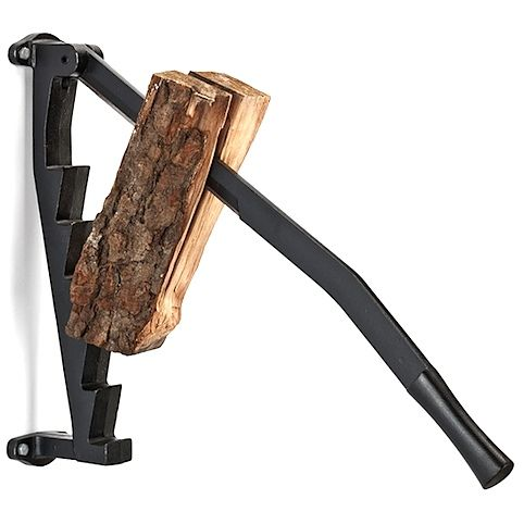 When an axe isn't at hand, this cast iron wood splitter is the next best  thing. This technique has been used in Scandinavia for over 25 years,  primarily for splitting kindling, and is built to last and endure.  Amazingly strong, easy and highly efficient, its structure uses only two  main components - the staircase and the blade; the stepped staircase can  support up to 100kg of hand force, holding logs up to 40cm long in position  while easily using the blade to spilt. Powerful and ...