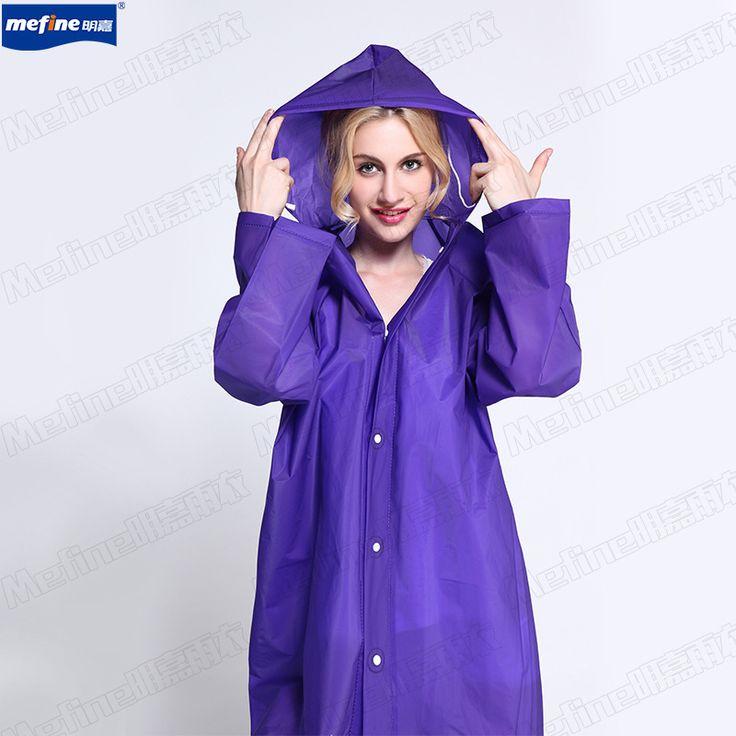 Cheap Raincoats, Buy Directly from China Suppliers: Lady Rain Poncho EVA Fashion Creative Environmental Adult Quality Rain Jackets Women Portable Light Weight Pla