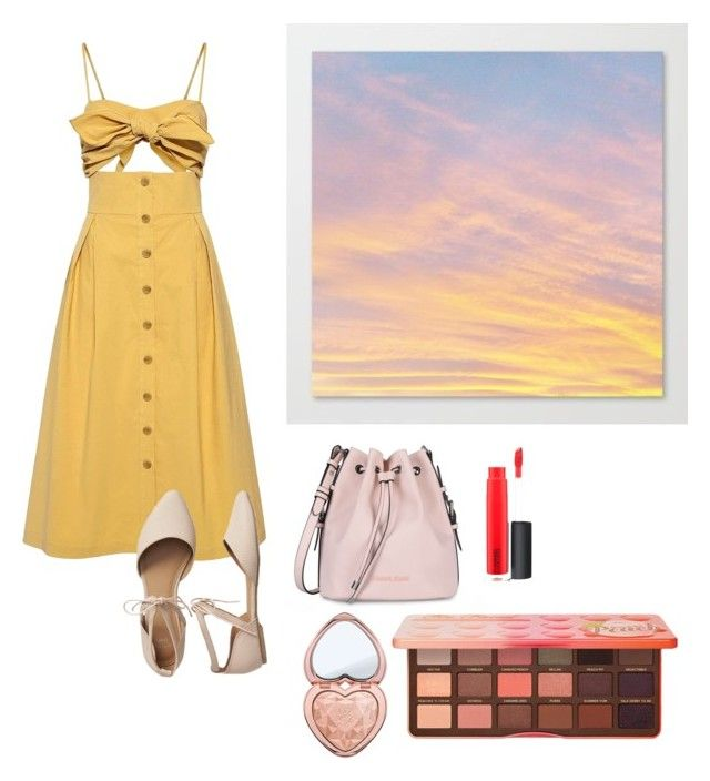 """""""Croizette Sunset stroll"""" by penkreitto on Polyvore featuring Sea, New York, Gap, Armani Jeans, Too Faced Cosmetics and MAC Cosmetics"""