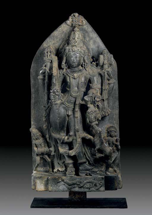 Bhairavar. Hoysala style.