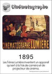 invention du cinématographe par les frères Lumière