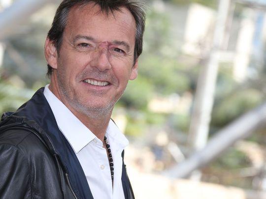 """Jean-Luc Reichmann lors du photocall pour """"Les douze coups de midi"""" lors du Festival de Télévision d"""