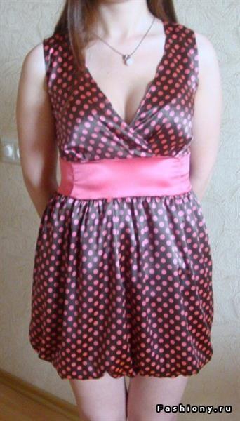 Платье из марианского шёлка