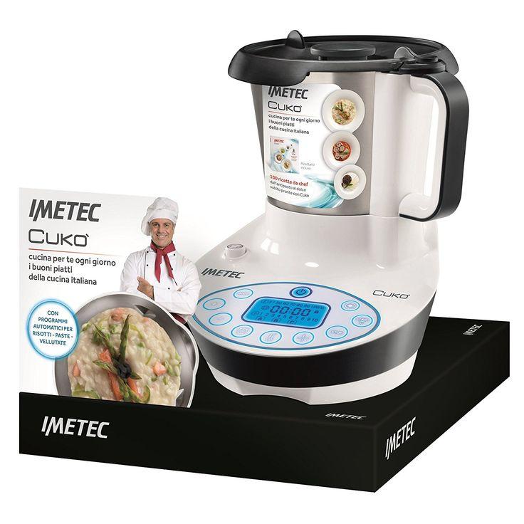 Imetec Cooking Machine CUKO', robot multifunzione: Amazon.it: Casa e cucina