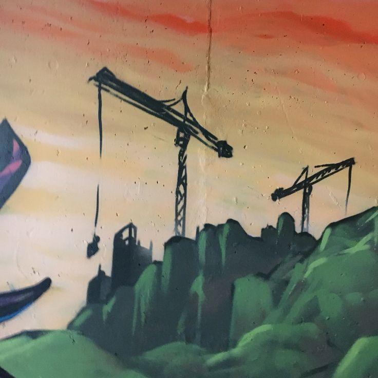 #graffiti #purkutaide #kerava #crane